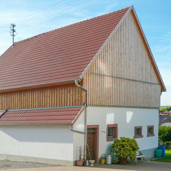 Sanierung Scheune in Walldürn-Altheim